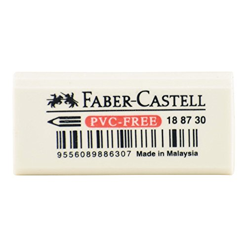 Faber-Castell Pvc Free Small Vinyl Eraser by Faber-Castell