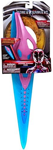 - Power Rangers Saban's Electronic Power Sword Pink Sounds & Lights 24