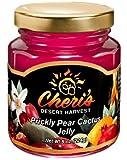 Cheri's Prickly Pear Cactus Jelly- 5 oz - Cacti Jam - Southwest Desert Spread- Southwestern Flavor