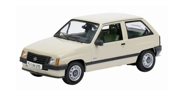 Amazon.com: Opel Corsa A Parchment (1/43 3412) (japan import): Toys & Games