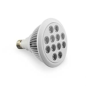 LESHP 24W Led Grow light Bulb, High Efficient Grow Plant Light for Hydropoics Garden Organic Mini Greenhouse( E27 12 Led pcs)