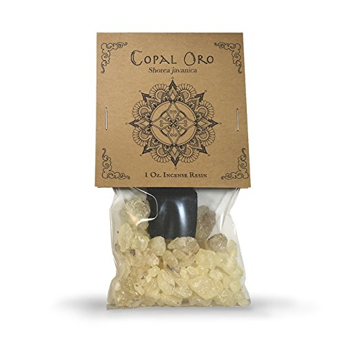 Copal Oro 1oz. with Natural Incense Charcoal