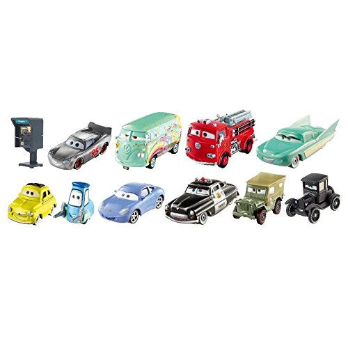 Cars Radiator Springs Racing - Disney/Pixar Cars 3 Return To Radiator Springs 10-Pack (Includes Lizzie, Sheriff, and Sally)