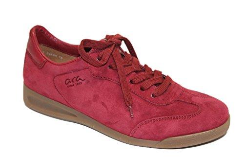 Rosso Ara Rom Sneakers 34489 Camoscio Donna PYwRxw61q