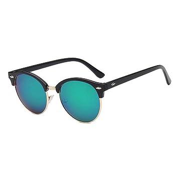 Siwen Gafas de Sol polarizadas para Mujer Espejo Redondo ...