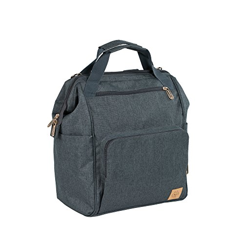 Lassig Women's Glam Goldie Backpack Diaper Bag - Anthracite by Lassig