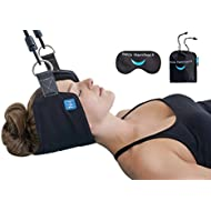 The Neck Hammock 2.0 - The Original Portable Cervical Traction and Relaxation Device. Easily Attach to Any Door or Railing for Chronic Neck and Shoulder Pain Relief in 10 Minutes or Less.