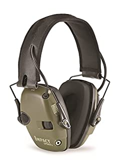 Howard Leight by Honeywell Impact Sport Sound Amplification Electronic Shooting Earmuff, Classic Green (R-01526) (B001T7QJ9O) | Amazon Products