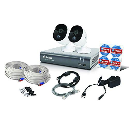 Swann 2 Camera 4 Channel 1080p DVR Security System | 1TB HDD