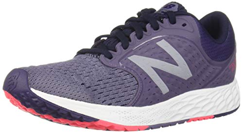 New Balance Women's Zante V4 Fresh Foam Running Shoe, deep Cosmic Sky/Wild Indigo/Pink zing, 12 B US