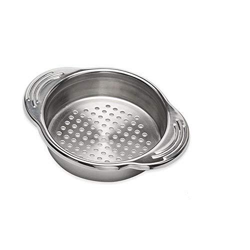 THE SAFETY ZONEY Stainless Steel Food Can Strainer Sieve Tuna Strainer Tuna Press Can Colander Food-Grade Stainless Steel Canning Colander