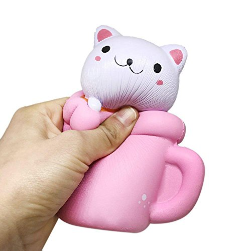 Squishy Cat Stress Relief : Squash 1 Cup