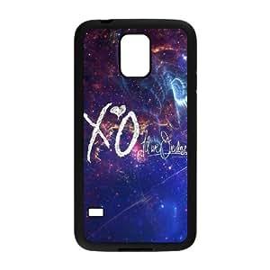J-LV-F Customized Print The Weeknd XO Hard Skin Case For Samsung Galaxy S5 I9600