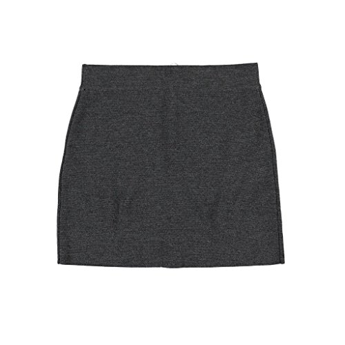 Krimson Klover Nelson Mini Skirt made of Ultrafine Merino - ( Heather Black, Small ) by Krimson Klover