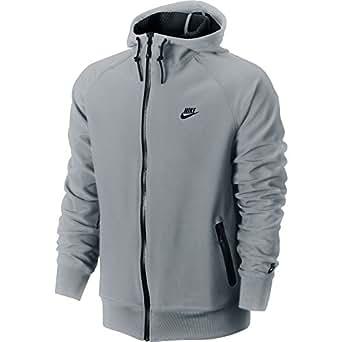 Nike AW77 Sphere Dry Men's Hoodie Grey 529052-023 (Size 4X)