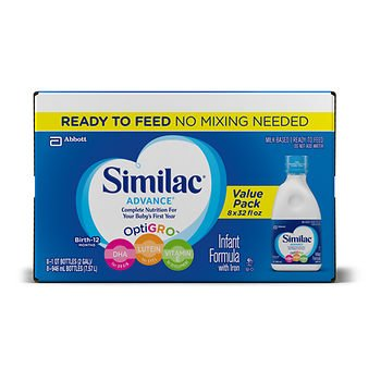 Similac Advance Ready to Feed Infant Formula 24 / 8 fl.oz. AS by American Standart