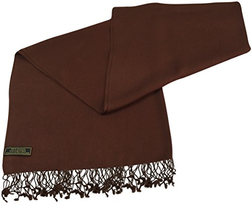 Dark Brown Solid Color Design Nepalese S - Brown Viscose Scarf Shopping Results