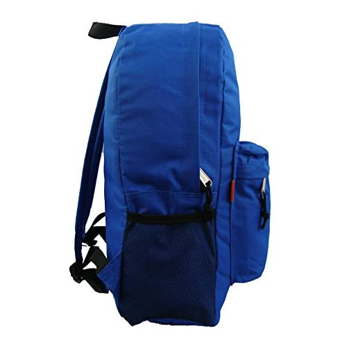 4397420c3d43 free shipping 18in Classic Backpack Basic Bookbag Simple School Book Bags  Vintage Emergency Daypack w