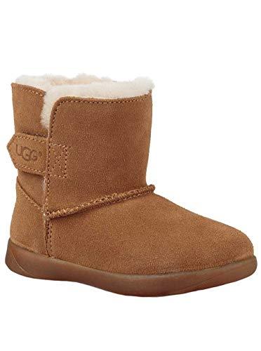 UGG Baby T Keelan Fashion Boot, Chestnut, 7 M US Toddler