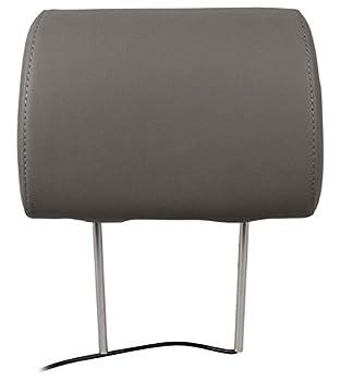 "Pair Rockville Rhp91-gr 9"" Digital Panel Gray Car Headrest Monitors W Speakers 2"