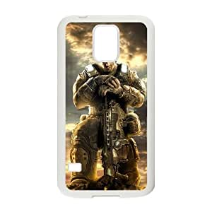 Samsung Galaxy S5 Phone Case White Gears of War KG6361053