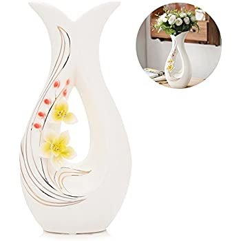 Amazon Handcrafted Blown Glass Flower Vase By Sonoma Artisan