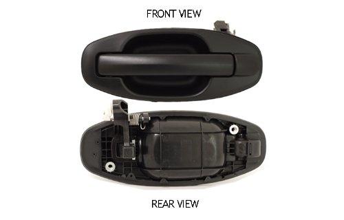 Hyundai Santa Fe Black Outside Rear Driver Side Replacement Door Handle (Door Handle Hyundai Santa Fe 2004 compare prices)