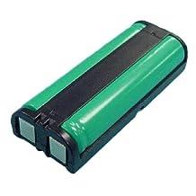 Panasonic HHR-P105 Cordless Phone Battery Ni-MH, 2.4 Volt, 830 mAh - Ultra Hi-Capacity - Replacement for PANASONIC HHR-P105, Bose QC3 Rechargeable Battery