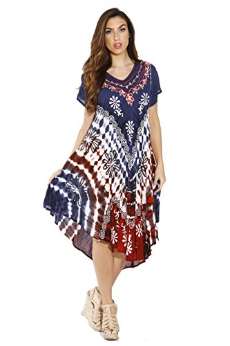 21522XX Riviera Sun Plus Size Summer Dresses / Swimsuit Cover Up