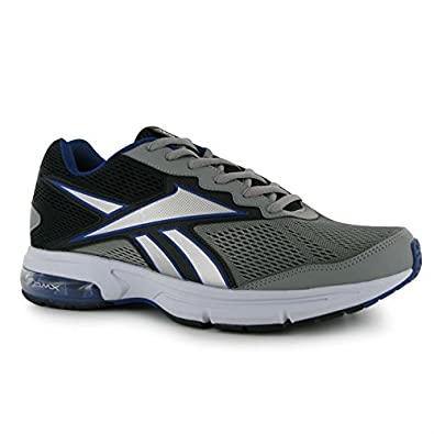 Running Shoes Mens Reebok Blue Grey Fuse Ride Trainers Blk Mens