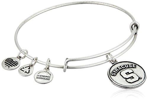 Alex And Ani Syracuse University Logo Expandable Rafaelian Silver Bangle Bracelet