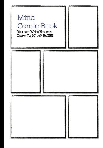 - Mind Comic Book - 7 x 10