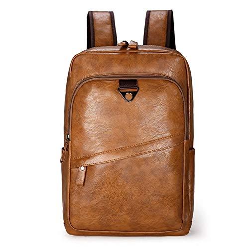 DMMW Neue Herren Leder Umh/ängetasche Business Travel Rucksack Leder Herren Tasche Computer Tasche