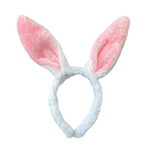 Kehen Easter Adult Children Hairband, Touch Bunny Ears Headband Party Accessory For Children Kids Babies (Pink)