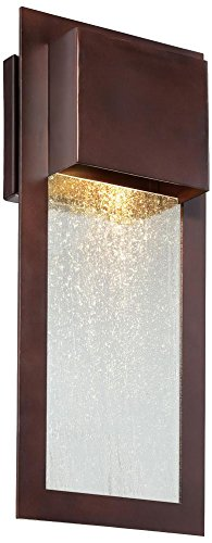 Minka Lavery Outdoor Wall Light 72382-246 Westgate Dark Sky Exterior Wall Lantern, 35w Halogen, ()
