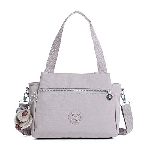 Kipling Elysia Solid Convertible Crossbody Bag, Slate Grey by Kipling