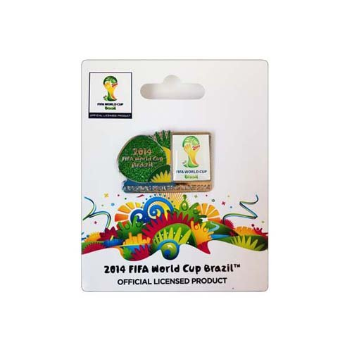 (2014 FIFA World Cup Logo Series Pin - w/ Date)