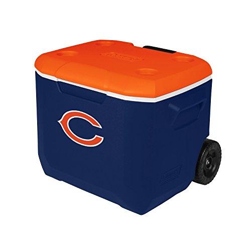 Coleman Company NFL Chicago Bears Performance Cooler, 60 quart, Blue/Orange by Coleman