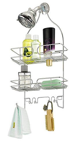 Finnhomy Bathroom Shower Caddy for Shampoo Conditioner Soap Chrome by Finnhomy