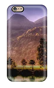 Durable Defender Case For Iphone 6 Tpu Cover(lake)