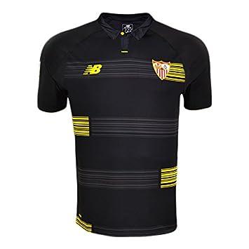 New Balance 3ª Equipación Sevilla FC 2015/2016 - Camiseta Oficial, Talla M: Amazon.es: Zapatos y complementos