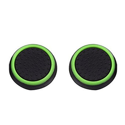 - ❤SU&YU❤1 Pairs Luminous Silicone Gel Thumb Grips Caps for Nintendo Switch Controller (B)