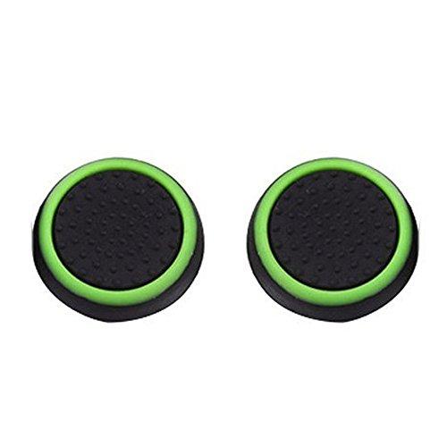 Hot Tuscom 1Pairs Luminous Silicone Gel Thumb Grips Caps,for Nintendo Switch Controller (B)