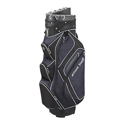 Wilson Staff Herren Golfbags W/S I Lock Cart Bag BLNA, Mehrfarbig, 40 x 40 x 90 cm, 1 Liter, WGB4314NA
