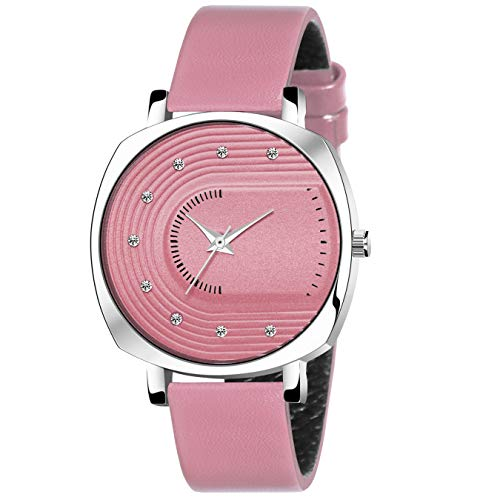 TRUE COLORS Girls Lather Analog Watch for Women Watch