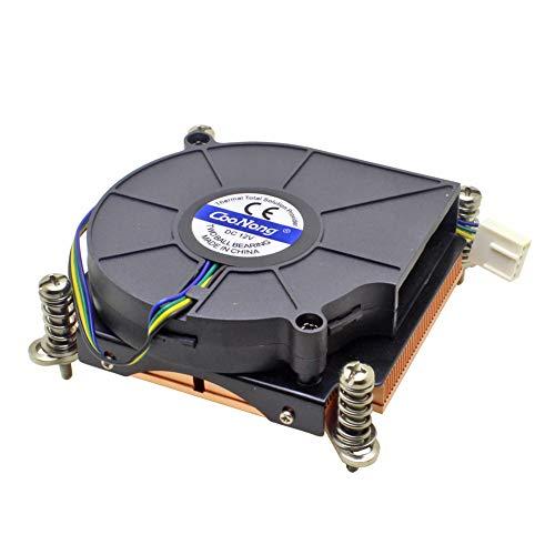 Server CPU Cooler Cooling Fan Copper Heatsink for Intel Core Xeon LGA 1155 1156 1150 1151 Industrial Workstation Computer Cooling