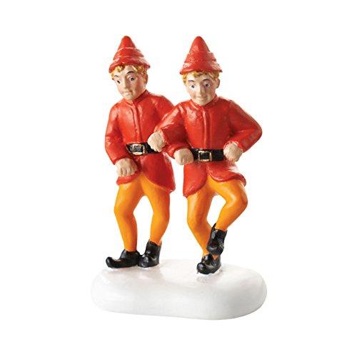 Village Elf (Department 56 Elf the Movie Village Twin's Happy Dance Accessory Figurine, 2.25
