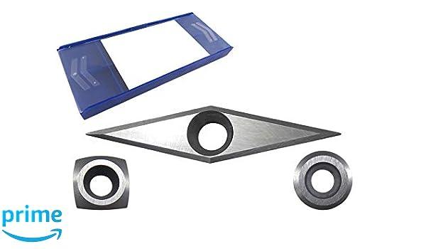Set of 3 Easy Wood Tools Ci3-NR Ci2-R2-NR /& Ci4-NR Negative Rake Carbide Cutter