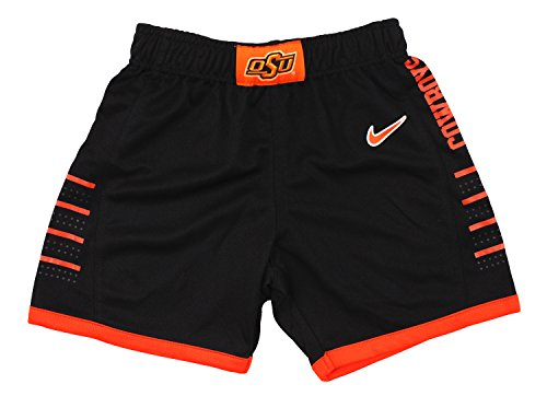 Nike NCAA Little Boys Toddlers Oklahoma State Cowboys Basketball Shorts, Black