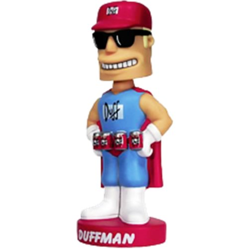 (Funko Simpsons Wacky Wobbler Bobble Head Duffman)